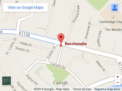 Bacchanalia Victoria Road