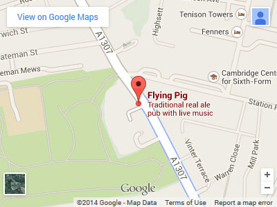 Flying Pig Map